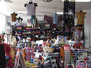 Fiber Arts Yarn Shop, Interior