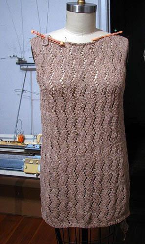 Herringbone Dress, Lace Annual