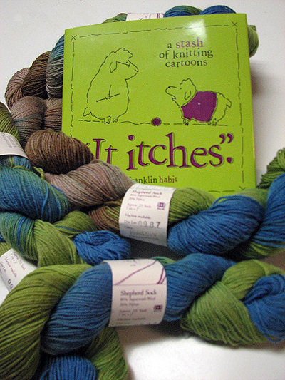 Franklin's Book and Yarn