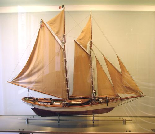 Untitled Two Mast Schooner
