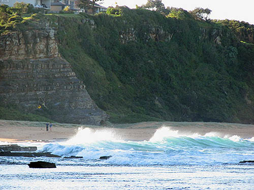 Beach at Narrabean, NSW