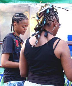 Two Sisters Hairstyles, IAAF, 2010