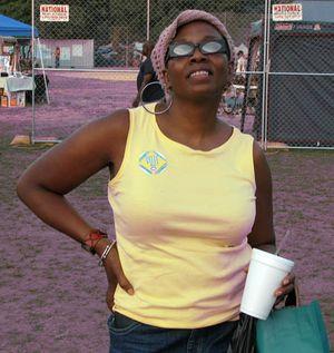 Me, At IAAF, 2010